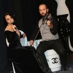 10- A cantora Ana Victoria e o violinista Saimon Simas deram um show à parte na apresentação LIVE da Intermezzo Assessoria Musical