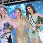 3- A coordenadora do concurso Danny Reis e a Miss Itajaí 2017 Anissa Cunha e a Miss Simpatia 2017 Jeniffer Mercedes