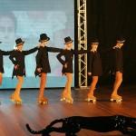 5- Grupo de patinação Atitude deu um show a parte em sua apresentação de dança