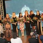 7- As madrinhas solidariedade homenageadas da noite