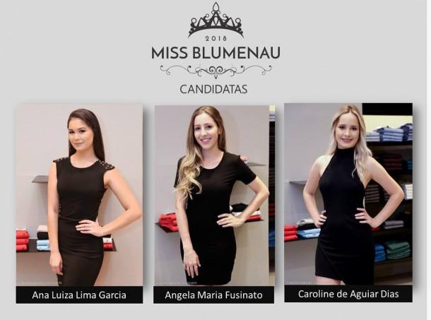 CANDIDATAS MISS BLUMENAU 2018-1
