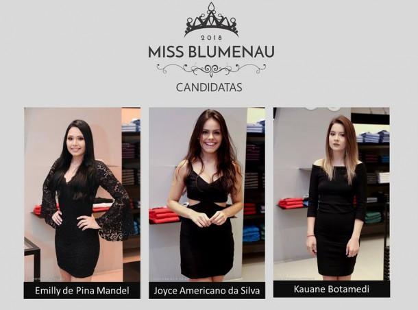 CANDIDATAS MISS BLUMENAU 2018-3