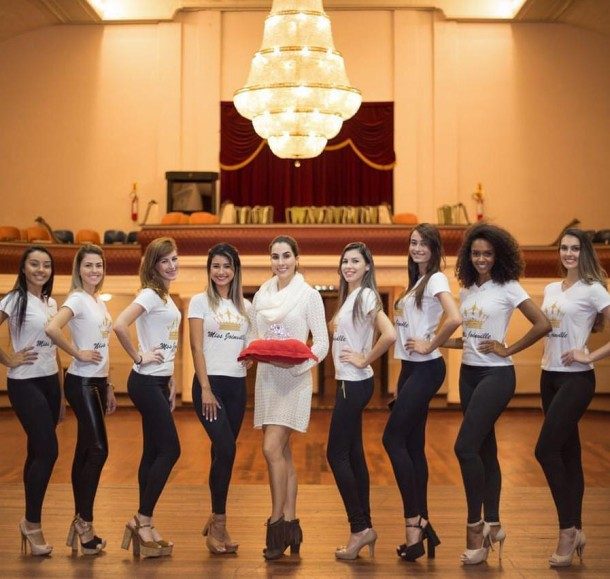 CANDIDATAS MISS JOINVILLE 2017 GRUPO