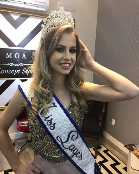 LARISSA ALBINO BRANCO - MISS LAGES 2017