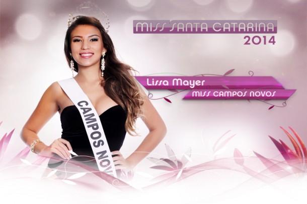 Miss Campos Novos 2014