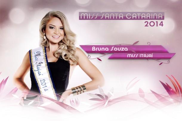 Miss Itajai 2014